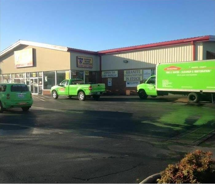 Fire Damage SERVPRO To the rescue!