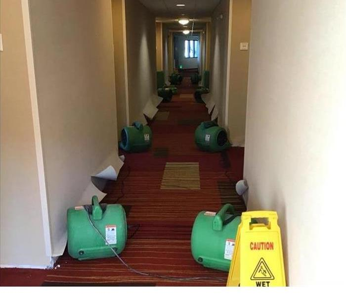 Water damage to Hotel